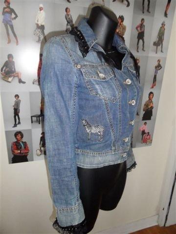 karine la mode customiser ses petites vestes. Black Bedroom Furniture Sets. Home Design Ideas